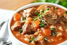 Healthy Crockpot Recipes / Slow cooked food - Hot and hearty one pot wonders.  Beat the winter chill and warm the soul with these delicious recipes.