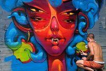 A • Street art