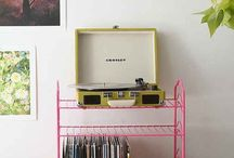 Music / My fave bands & cool vinyl records - music inspiration