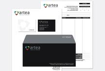 Nuestro trabajo - Artea / Creación de marca, brochure y sitio web.