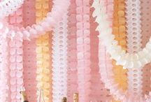 Kids Party Backdrops / Here are beautiful ideas to inspire you for your party backdrops!