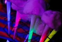 Glow In The Dark Party / Glow In The Dark Party Ideas
