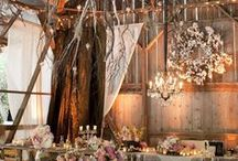 wedding venues and decor / by Lindsay Webster