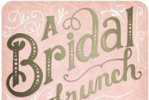bridal shower ideas / by Lindsay Webster