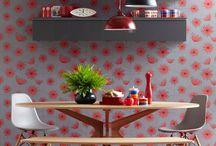 Red Rooms / Red rooms home inspiration decor