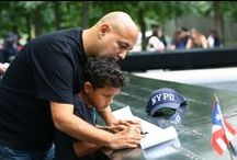 14th Anniversary at the 9/11 Memorial / The 9/11 Memorial held its annual commemoration ceremony, which included the reading of the names of the victims, on Sept. 11, 2015.  / by 9/11 Memorial & Museum