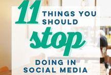 Social Media Hacks & Strategies / Improving performance on social media.