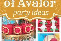 Elena of Avalor Party / Elena of Avalor Birthday Party Ideas