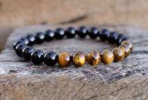 Bracelet / Braziliam Natural Stone