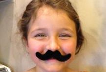 Oh, the love of a mustache / Why are people so interested mustaches? WHY? Because they are FUN!