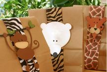 Animal Party Favors / Great party favor ideas for an animal party, zoo party, safari party, rainforest party, jungle party, reptile party, owl party, bug party, bee party, butterfly party, penguin party, snake party, crocodile party, Wild Kratts party or animal print themed party. Great favor ideas for animal themed VBS and baby showers, too. See all our boards -- TONS of animal-themed ideas at http://www.pinterest.com/zooniversity/