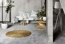 A Natural Home / A home using raw, natural elements to create the perfect pure balance of a home.