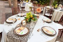 Adult Safari, Zoo or Rainforest Themed Party / Lots of animal themed invitations, decorations, table settings, food ideas, cakes, and favors for weddings, showers and adult parties --  Out of Africa, safari, zoo, jungle, rainforest, and woodland themed events. See all our boards -- TONS of animal-themed ideas at http://www.pinterest.com/zooniversity/ / by Zooniversity