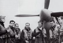 Norwegian Spitfire pilots / A collection of Norwegian Spitfire pilots