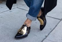 shoes. I would. I do. / Painfully hot shoes
