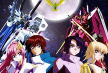 GUNDAM!! / Gundam seed & seed Destiny  Gundam 00 Gundam Unicorn Gundam Blood-Orpahn