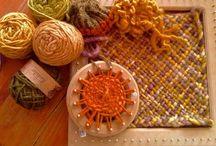Mis tejidos en telar / Mis trabajos en telar