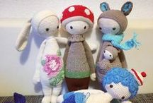 Toys - knitted, crocheted, sewed