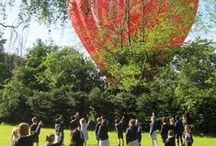 Spot the Balloon / People acoss the UK who have spotted our balloons and kindly sent in photographs :)