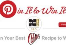 Cookies Sauces & Seasonings / PIN IT to WIN IT!  Pin your favorite grilling recipes to YOUR Cookies Grilling board, tag @925nashicon plus #cookiesbbqrules and your entered to win!  Great prizes provided by Cookies Sauces & Seasonings include cookbooks and sauce/seasoning kits.   MORE details can be found at www.925nashicon.com