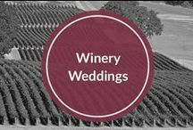 Winery Weddings / Combining Wine and a Wedding
