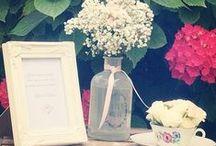MARIAGE SHABBY VINTAGE / Décoration de mariage dans le Gard