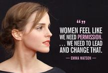 Inspirational Women / Women to learn from, to aspire to, to emulate, to admire