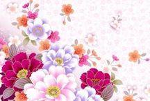 Borders Flower
