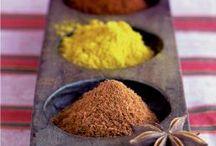 Couleurs, Thé, Épices / Mon travail photographique édité autour du rituel du thé, ethnique autour de la cuisine et de la salle de bain