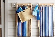 Beach House Bonanza / A mix of traditional and updated takes on California sand and surf décor.
