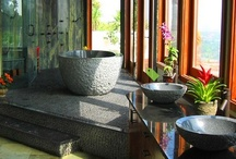 Luxurious Bathrooms / Dream of west coast luxury with these inspirational bathroom designs.