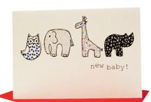 New Baby / martha and hepsie ltd New Baby cards, inspiration and things we love! #newbaby #christening #birth #baby #nursery #children