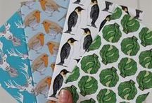 Christmas / Christmas designs by martha and hepsie, and things we like! #brusselsprouts #stag #deer #penguin #robin