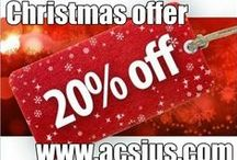 Christmas Offer 20% Discount  / Now add spice to your Christmas party and make it like never before with heavy discount from ACSIUS Technologies on search engine optimization and various other services.