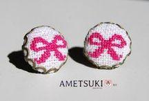 { Les créations d'AMETSUKI } / Vous pouvez retrouver toutes ces créations en vente dans la boutique http://www.alittlemarket.com/boutique/ametsuki