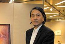 Junkyo Muto / Nel 1973, si laurea in Design presso l'Università di Belle Arti di Tokyo, presenta la prima mostra personale e si trasferisce prima a Parigi e poi in Spagna, dove tiene un'altra personale a Murcia