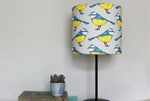 Bold Blue Tit! / We love Blue Tit's, apart from the playground humour attached to their name (go on giggle) they're also cheeky and confident (a bit like us)! Blue Tit's may be the most common species of tit, but with a bright blue cap and magnificent yellow belly they rock the UK's gardens in style and our Martha and Hepsie designs! #bluetit #birds #britishgarden