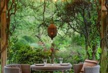 """Outdoor Spaces / Let these ideas inspire your most creative """"dream"""" outdoor space!"""