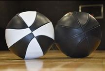 Leather Head Basketballs / HANDMADE LEATHER BASKETBALLS RECOMMENDED FOR INDOOR USE ONLY