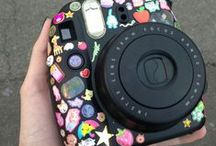Fall in love with instax mini / Cute projects and ideas for fuji instax mini camera