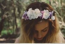 ✿ flowers in my hair ✿ / lovely accessories for hair