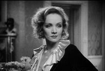Marlene Dietrich (B&W) / The Actress - The Singer - The Star