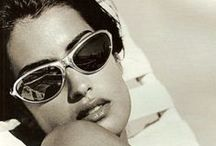 Yasmeen Ghauri / The famous model of the 90s