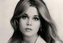 Jane Fonda (B&W) / The American Actress.