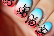 Nails / Nail designs! I could never do these :/ xD / by Helen Geraghty