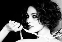 Keira Knightley (B&W) / The most photogenic actress and one of the greatest.