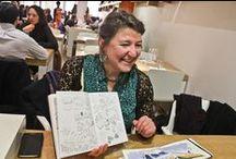 Dijon vue par Emily Nudd Mitchell / Emily Nudd Mitchell est illustratrice. ce qu'elle aime par-dessus tout ? Dessiner ! Elle enseigne, anime des cours et stages de dessins et d'aquarelle et parcourt le monde pour capter l'âme des paysages et territoires. Amoureuse de la Bourgogne, Emily a choisi la Côte-d'Or pour une serie de reportages en images avec www.une-annee-en-cote-dor.com  ! Retrouvez les dessins, les stages, les voyages d'Emily sur son blog http://www.emilydessine.blogspot.fr/