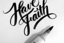 lovely letters / Calligraphy