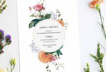 Wedding stationery / Wedding inspiration
