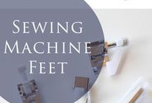 Sewing Machines and Accessories / What's that foot for? Find guides to all those tools in your box & beyond. Make sewing easier with the right tools! // best Sewing machine, Sewing machine for beginners, Sewing machine projects, Sewing machine accessories, Sewing machine table, Sewing machine cover, Sewing machine feet, Sewing machine reviews, Sewing machine embroidery, Sewing machine for sale, Sewing machine maintenance,